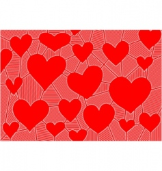 abstract background for valentine day vector image vector image