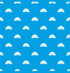 Aboriginal dwelling pattern seamless blue vector