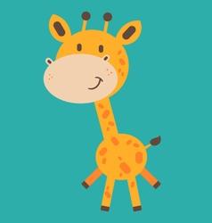 Cute Baby Giraffe vector