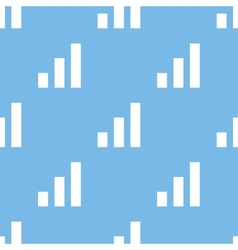 Graph seamless pattern vector image