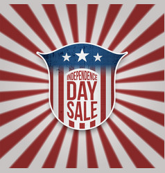 independence day sale background vector image