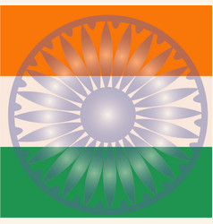 India flag indian republic day freedom vector