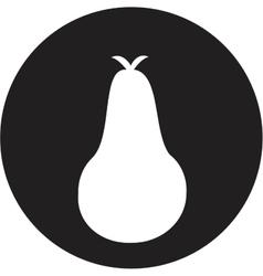 Pear icon vector