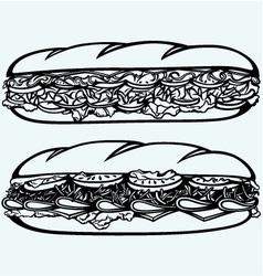 Sub sandwich vector