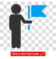 Child commander eps icon vector