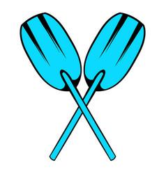 paddle icon icon cartoon vector image
