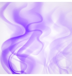 Abstract background of violet smoke vector