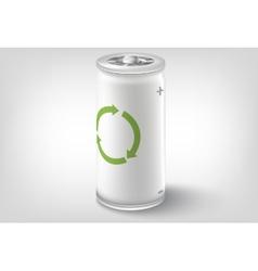 Battery icon conceptual design vector image
