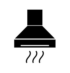 extractor - cooker hood icon vector image