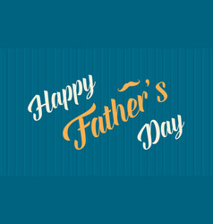 Father day collection banner style vector