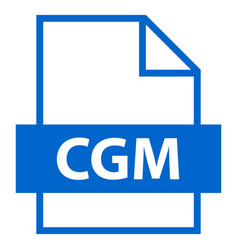 File name extension cgm type vector