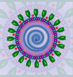 corona virus background eps 10 vector image vector image