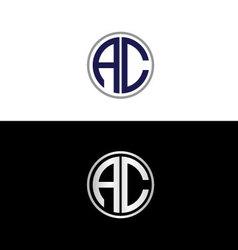 Ac logo vector