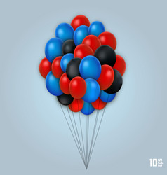 balloon set art object vector image