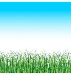 Grass landscape nature background vector
