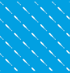 pipette pattern seamless blue vector image