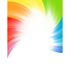 Vector rainbow background vector