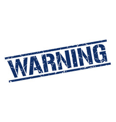 Warning stamp vector