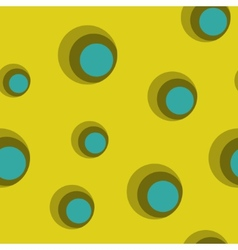 seamless backgrounds with circles vector image vector image