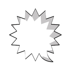 text balloon icon vector image
