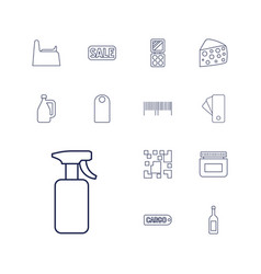 13 product icons vector