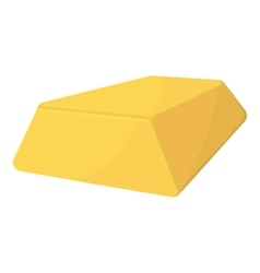 Gold icon cartoon style vector image