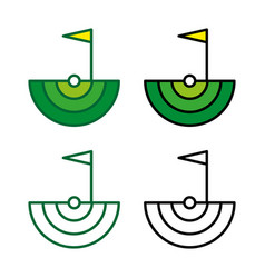 golf4 vector image