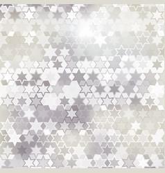Gray star background vector