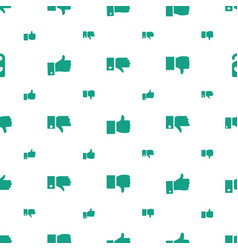 like icons pattern seamless white background vector image