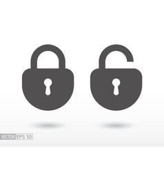Lock - flat icon vector image