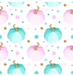 Seamless pattern with pink and blue vector