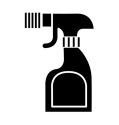 foggy spray bottle icon vector image