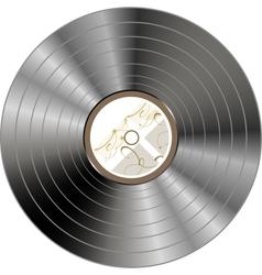 retro vintage vinyl record isolated - vector image