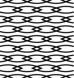 Seamless curved shape pattern background vector