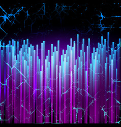 Digital background with futuristic lines vector