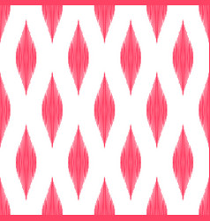 ikat seamless pattern tribal background vector image