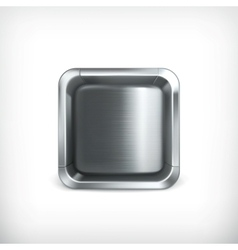 Metal box app icon vector