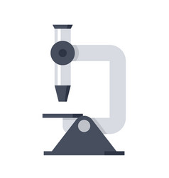 microscope science vector image