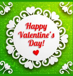 romantic love poster vector image