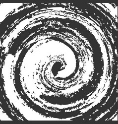 Spiral blots abstract swirl tornado form swirl vector
