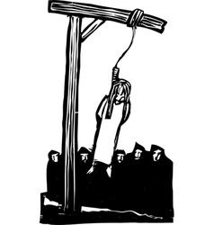 Public Hanging vector image vector image
