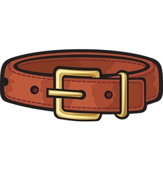 Dog collar vector image vector image