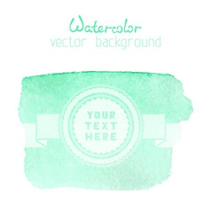 Abstract hand-drawn watercolor backgrounds vector image
