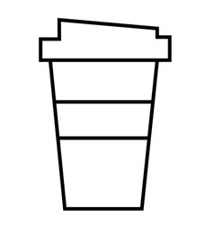 cofee cup vector image