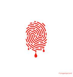 Crime logo vector