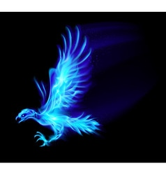 Fair Hawk Blue 01 vector image