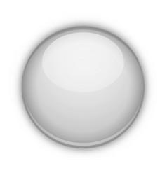 glossy ball vector image