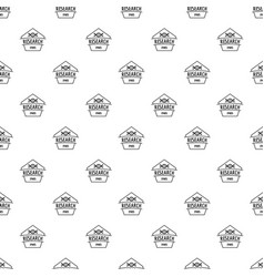 Gmo free research pattern seamless vector