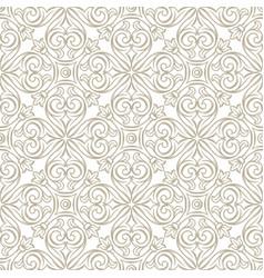 Italian ceramic tile pattern ethnic folk ornament vector