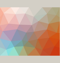multicolored abstract geometric background vector image